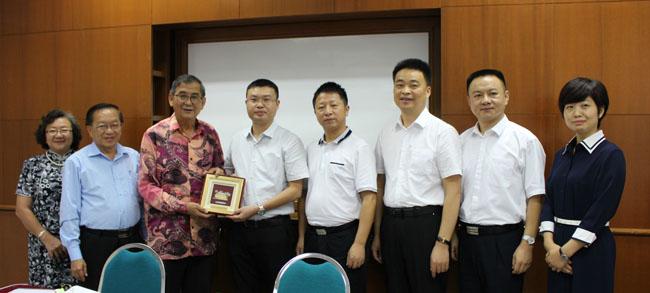 中国长沙市外事侨务办公室代表团到访教总
